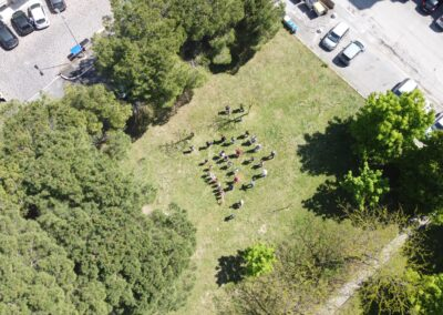 Comitato Largo Madonna Alta Perugia Pulizia del Parco