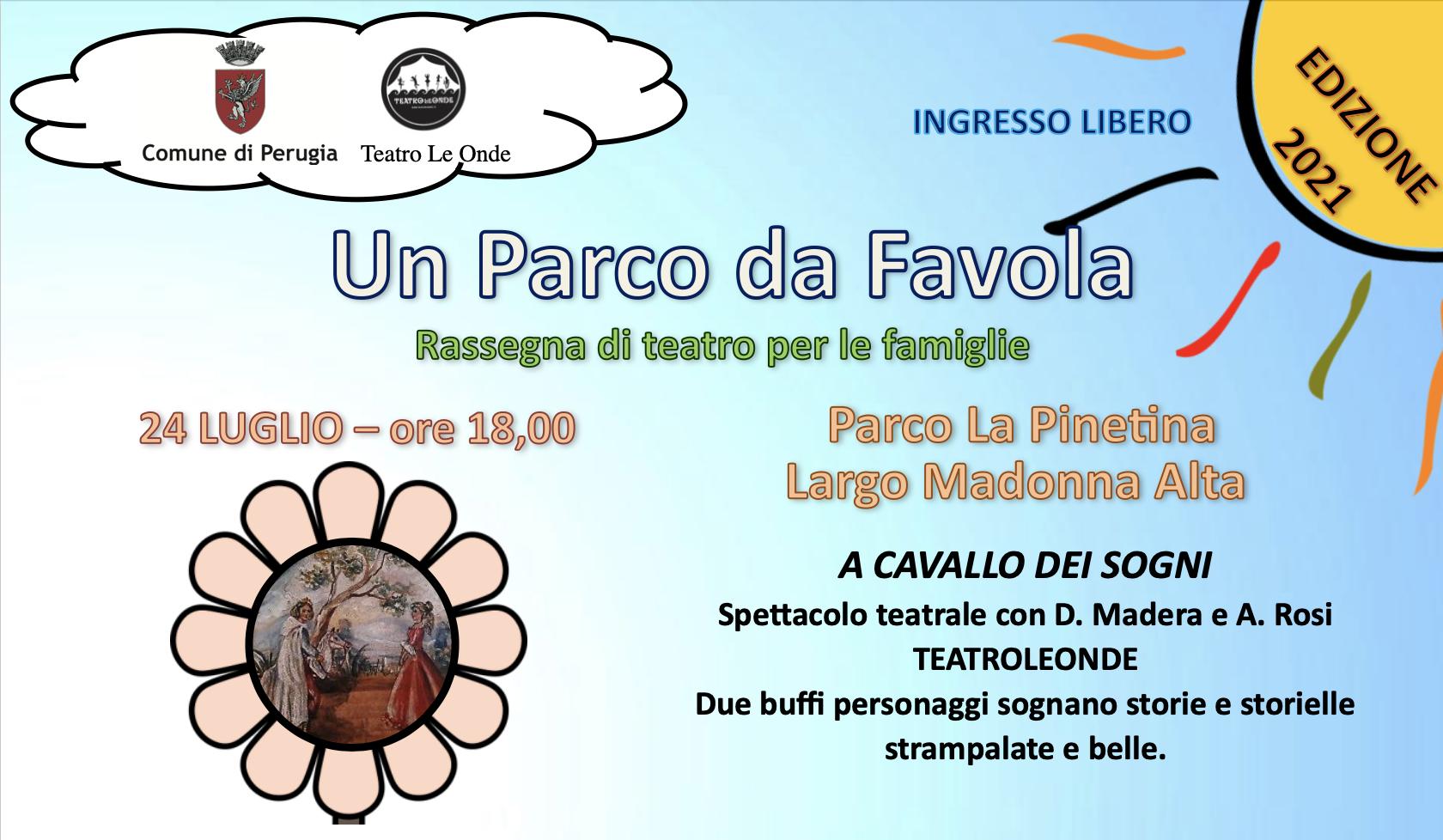 Un parco da FAvola - Comune di Perugia - Largo Madonna Alta